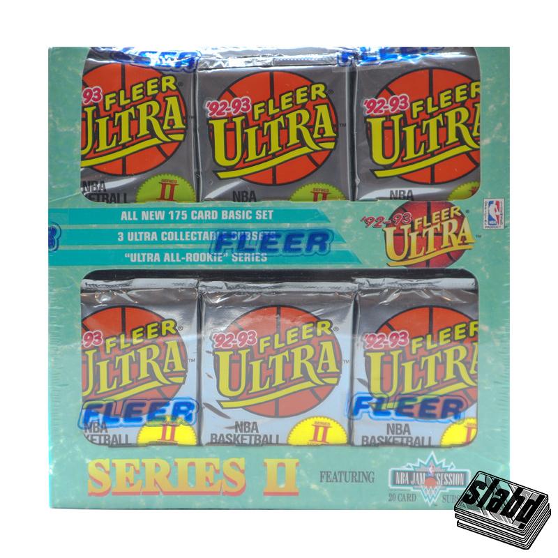 1992 93 Fleer Ultra Jumbo Front