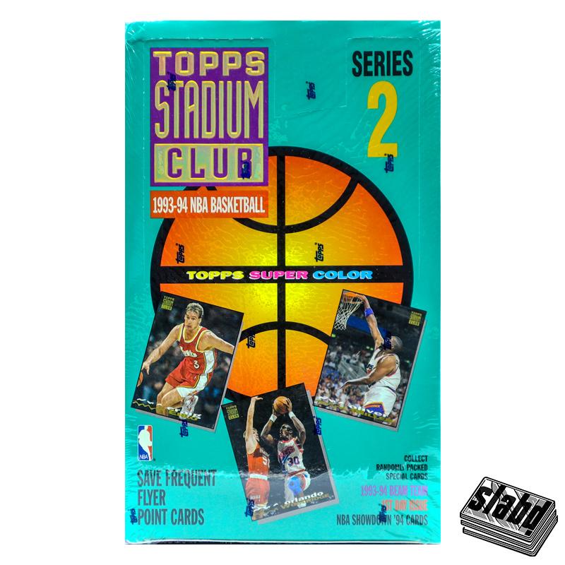 1993 94 Topps Stadium Club Front